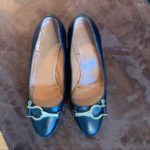 Burberry black high heel size 37 1/2
